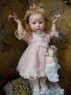~~~ RESERVED f. E ~~~Rare Grand Size French Character Child by SFBJ / from whendreamscometrue on Ruby Lane