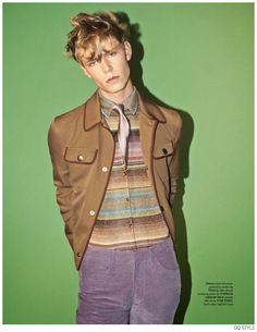 Vintage Inspired Styles Revamped for Fall Brit Pop Fashion Spread from British GQ Style image Brit Pop GQ Style 006 800x1036