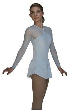 6c35746d87c26 Chloe Noel Skating Dress DLV03 - $90 Chloe Noel, Long Sleeve Leotard, Ice  Skating