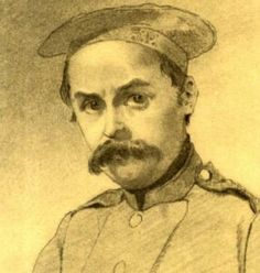 Shevchenko. Self-portrait as a soldier, 1847 (From Wikimedia Commons) - See more at: http://britishlibrary.typepad.co.uk/european/2015/03/shevchenko-a-voice-for-unsung-heroines.html#sthash.8VXU8ilX.dpuf
