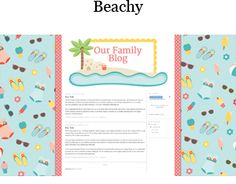 Free Blogger Background