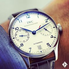IWC Portuguese Automatic IW500107 #iwc #iwcwatches #iwcportuguese