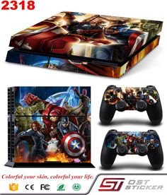 >> Click to Buy << Marvel's The Avengers Hero Vinyl Decal Skin Stickers For PS4 Console and Controller Decal #Affiliate