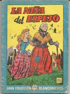 La niña del espejo Gran colección Blancanieves Ilustraciones Angel Pardo