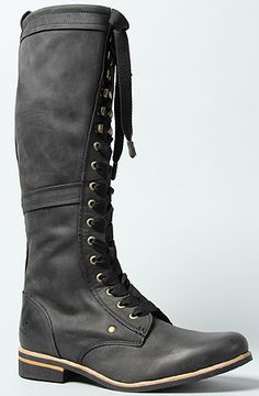 The Empire Boot in Black by J Shoes