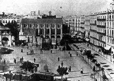 1902 - Barcelona - plaça de Catalunya