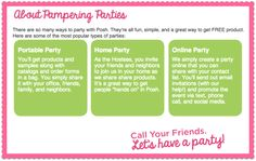 Host a Perfectly Posh Party. 3 Options!