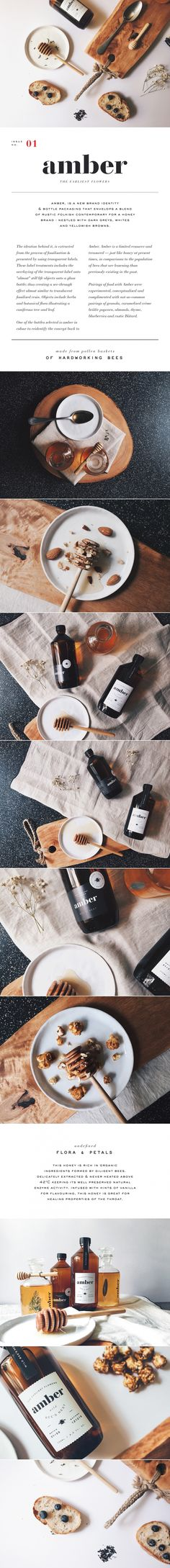 Amber design & branding packaging.