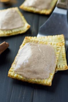 Pumpkin Brown Sugar Cinnamon Pop Tarts - The perfect quick and easy fall breakfast!