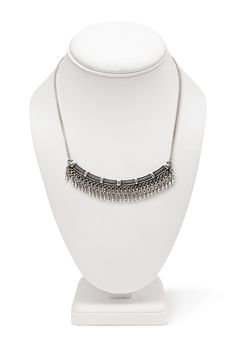 Tribal-Inspired Bib Necklace #Accessories