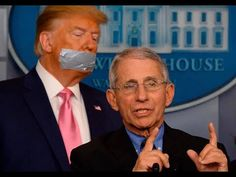 """""""In response to being reprimanded earlier today by Trump, Dr. Fauci unveils a new life-saving face mask. Donald Tramp, Caricatures, Donald Trump Face, Trump Funny Face, Humor, True Stories, Just In Case, I Laughed, Hilarious"""