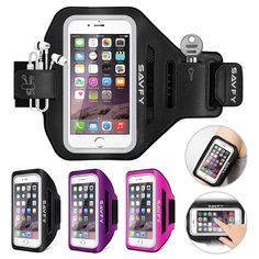 Sports Gym Armband Cover Jogging Cycling Running Arm Holder Case For Cell Phone #SAVFY