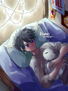 kkumri:Storm's most beloved sleep buddy is little Tippit, sown by none other than mama Juvia.