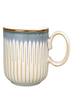 Free shipping and returns on Denby Fluted Mug at Nordstrom.com. Made in England using locally sourced clay, a bold handcrafted fluted mug is designed with two glazes that merge together to create a unique effect.