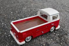 Red is a mod of white is a full rebuild with tailgate and flaired rear fenders Cool Lego, Cool Toys, Lego Truck, Lego Construction, Lego Projects, Volkswagen Bus, Lego Moc, Automotive Art, Lego City
