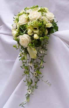 svatební kytice bílo zelená - Hledat Googlem