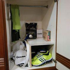 Caddy locker #golf #tourlife #caddie #mark #markimyballs #lidliners #keepitfresh #adt_golf