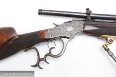 Stevens Pope Model 44 Schuetzen Rifle