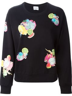 Shop Iceberg fruit print sweatshirt in Stefania Mode from the world's best independent boutiques at farfetch.com. Over 1500 brands from 300 boutiques in one website.
