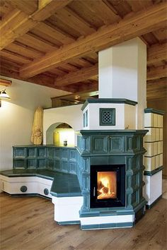 Krb, kachle, gril Stair Shelves, Portable Kitchen Island, Earthship Home, Montana Homes, Hearth And Home, Wood Burner, Bathroom Interior Design, Creative Home, Cottage Style