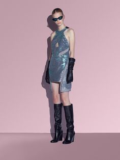 CHROME Sequin Dress