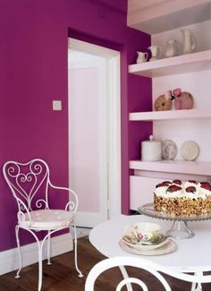 Time for tea?! We're not sure what looks nicer, Russian Velvet 2 or that cake...