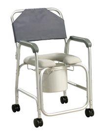 EasierLiving: Aluminum Shower Chair/Commode, Parkinson's Product #HomeHealthcareSupplies #Caregiving