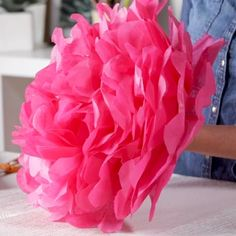 How to Make DIY Tissue Paper Flowers for the Ultimate Party Backdrop