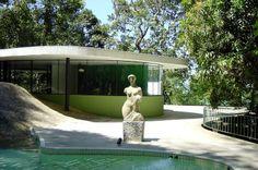 Casa das Canoas, Rio de Janeiro, Brasil (1952)  Oscar Niemeyer