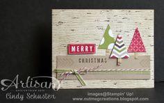 nutmeg creations: Artisan Wednesday Wow - Simple Christmas Card