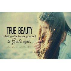 True.   Beauty.