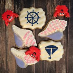 Nautical cookies by Life Is Sweet