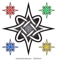 Four pointed template in Celtic knots style. Tribal Silver ornament for jewelry design and samples of other colors. Star Tattoo Designs, Skull Tattoo Design, Star Designs, Sun Tattoos, Celtic Tattoos, Body Art Tattoos, Eagle Drawing, Halloween Acrylic Nails, Pencil Sketch Drawing