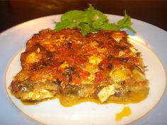 Greek Dishes, Main Dishes, Appetizer Recipes, Appetizers, Greek Recipes, Vegetable Dishes, Cooking Recipes, Easy Recipes, Food And Drink