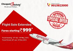 Flight sale Extended Book your Flight Rs for Business or Luxury Vacation Travel Period: Jun- 2015 Limited Period Offers! Book flight ticket now Cheap Air Tickets, Cheap Flight Tickets, Flight Sale, Book Flight Tickets, Vacation Trips, Vacation Travel, Cheap Flights, Online Tickets, Period