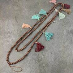 Artificial Shell Necklace Multifunction ID Work Card Rope Chain Mobile Phone Hanging Shell Necklaces, Tassel Necklace, Pendant Necklace, Friendship Bracelets Tutorial, Bracelet Tutorial, Mobile Holder, Mobile Accessories, Rope Chain, Art Girl