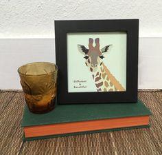 Giraffe digital print art, safari nursery, Giraffe art prints, Animal print, giraffe home decor, inspirational art, african animals decor by ShortyLife on Etsy https://www.etsy.com/listing/464031984/giraffe-digital-print-art-safari-nursery