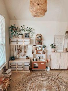 Playroom Design, Kids Room Design, Playroom Decor, Baby Playroom, Ikea Toddler Room, Montessori Playroom, Toy Rooms, Big Girl Rooms, Home Decor Inspiration