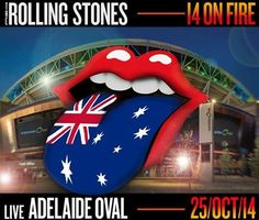 """Greatest Show on Earth 25/10/14 ... my daughters, myself and 54,000 people shared the night with the Greatest Band on Earth """"The Rolling Stones"""" <3"""