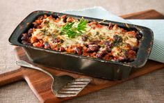 Mexican Lasagna Mexican Dishes, Mexican Food Recipes, Ethnic Recipes, Cannelloni Recipes, Baked Pasta Recipes, Meat Sauce, Pasta Bake, Lentils