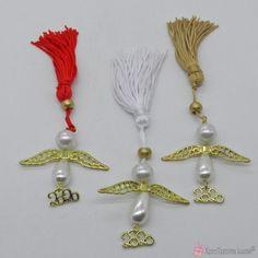 Γούρι αγγελάκι 2020 Tassel Necklace, Charms, Jewelry, Fashion, Moda, Jewlery, Bijoux, La Mode, Jewerly