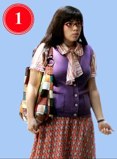 ugly clothes | Betty (America Ferrera) in Ugly Betty