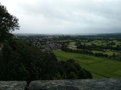 Vue sur Stirling - Août 2014