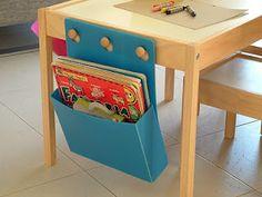 customize a child's ikea table.