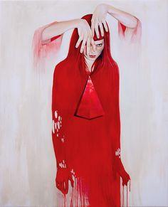 The Last Thought - Martine Johanna. Acrylics on linen