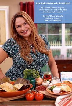 "SET YOUR DVR'S!  Foodie Gardener, Shirley Bovshow's in the kitchen Wed. 1/7 on ""Home and Family"" show cooking ""Honduran-style tamales!"" Surprise, surprise, surprise! 10am pst on Hallmark Channel!"