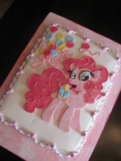 My little pony fondant cake
