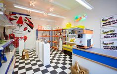 The Anya Hindmarch Mini-Mart is now open at 99 Mount Street, London.