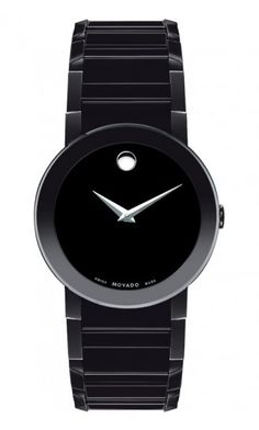 Movado Sapphire. My husband wants this.