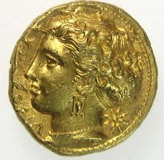 Image result for greek gold coin syracuse pegasus